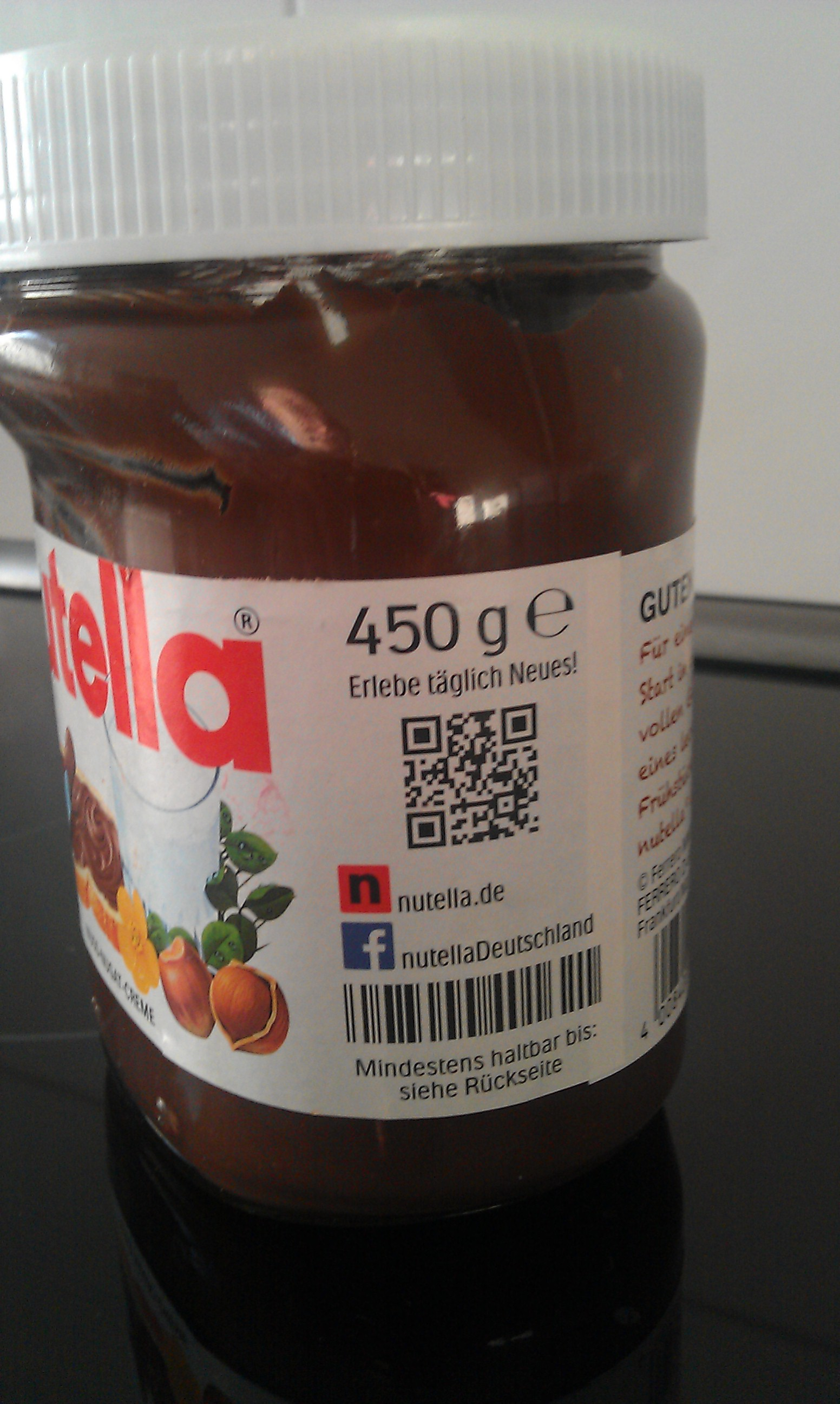 qr code ein witz bei nutella schon bluhm systeme blog. Black Bedroom Furniture Sets. Home Design Ideas