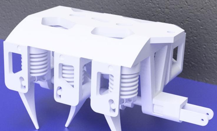 3d drucker druckt kompletten roboter bluhm systeme blog. Black Bedroom Furniture Sets. Home Design Ideas