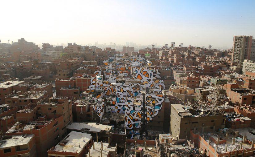 Graffiti über 50 Häuser in Kairo