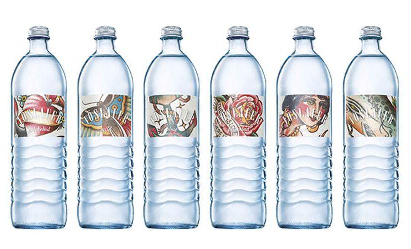 Tattoo Etiketten: von der Haut auf die Flasche