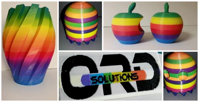 3D-Drucker in Farbe = 4D-Drucker