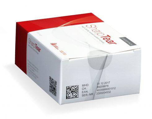 Arzneimittelverpackung mit Tamper Evident Siegel