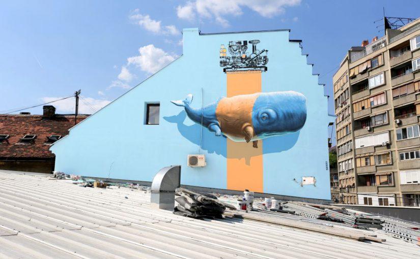 Graffitis mit hoher Walbeteiligung