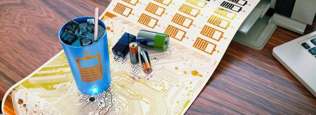 Gedruckte Batterien für jede Anwendung