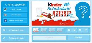 Kinderschokolade aktionscode kaufen