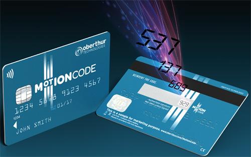 Motion Code soll Kreditkarten-Betrug verhindern