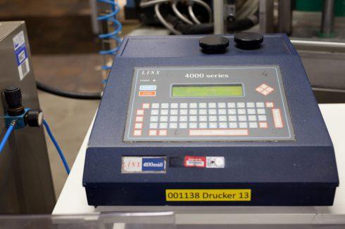 Eines der ersten Linx-Geräte: Linx 4000