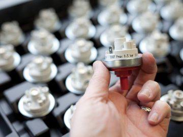 Codierter Druckwächter Druckmessgerät von Beck