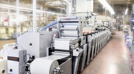Neue Etikettendruckmaschine Bluhm Weber