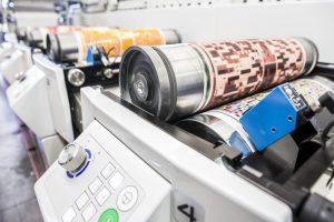Etikettendruckmaschine Bluhm Weber