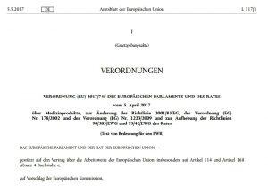Medizinprodukte: Neue EU-Verordnung 2017/745   Bluhm Systeme Blog