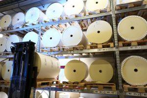 Etiketten aus eigener Produktion