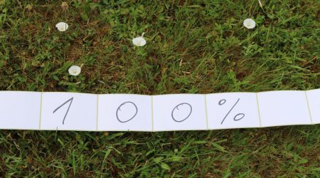 Papier 100% aus recyc.