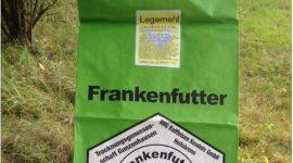 Etiketten auf Papiersäcken