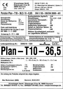 CE-Kennzeichnung gemäß der Bauprodukte-Verodnung 305/2011