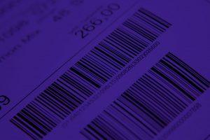 Ein guter Kontrast ist beim Auslesen wichtig. Dunkler Barcode auf dunklem Grund ist nicht auslesbar.