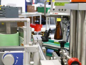 Verschiedene Produktgrößen können in der Geset 321 abgespeichert und aufgerufen werden.