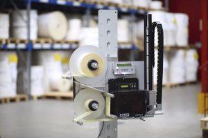Seit 25 Jahren integriert Bluhm Weber in Druckspender Sato Druckmodule.