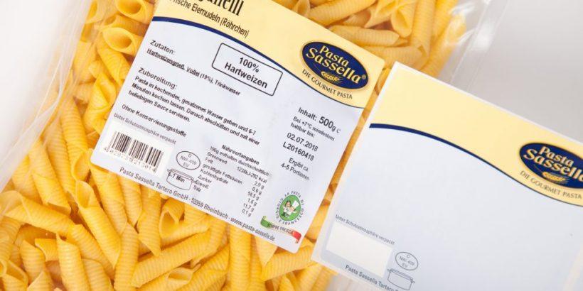 Lebensmittelkennzeichnung Etiketten