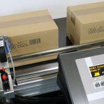 Markoprint Inkjet-Drucker bedruckt Karton