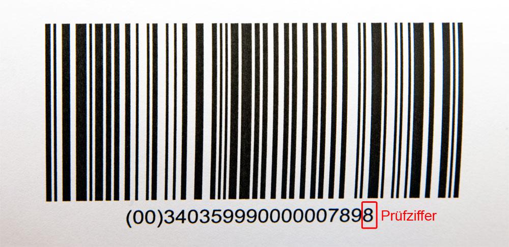 barcode pr fziffer berechnen mit smalltalk tipps. Black Bedroom Furniture Sets. Home Design Ideas