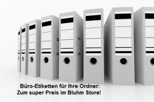 Etiketten Bluhm Store