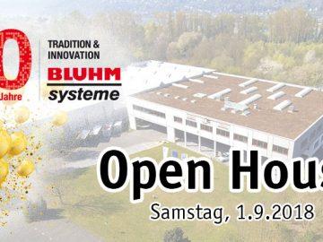 Open House Bluhm Systeme 50 Jahr