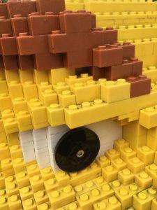 Legosteine kleben