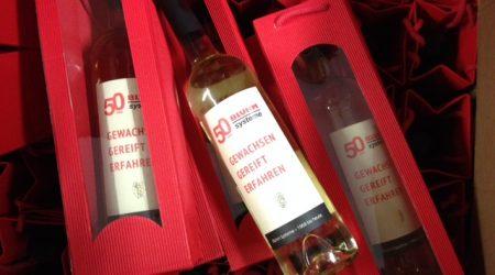 Wein Etiketten Bluhm Systeme