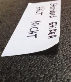 Kennzeichnung EPP mit Etiketten
