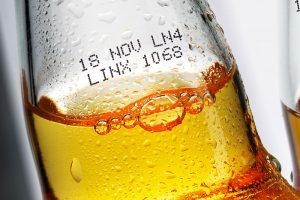Linx Black Bottling Ink - Continuous Inkjet-Tinte für kalt abgefüllte Flaschen