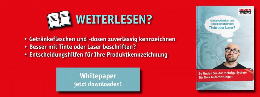 Whitepaper zur Getränke-Kennzeichnung mit Inkjet und Laser