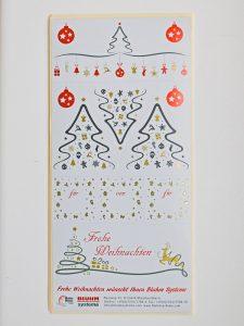 Etiketten zu Weihnachten Bluhm Store