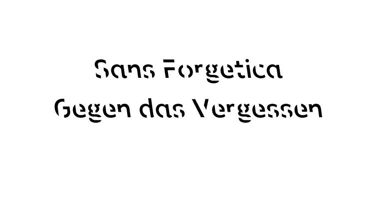 Sans Forgetica