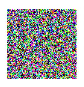 JAB Code bunter Barcode / QR-Codes