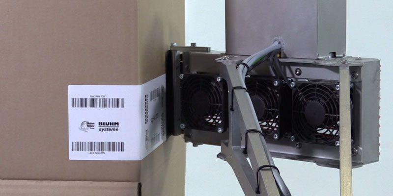Der vollelektrische Etikettierer Legi-Air 4050 CWS