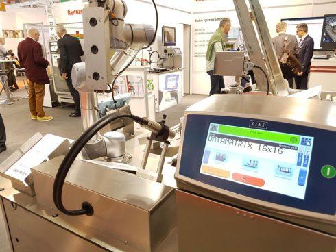 Linx Inkjet-Drucker von Bluhm Systeme auf der Logimat 2019