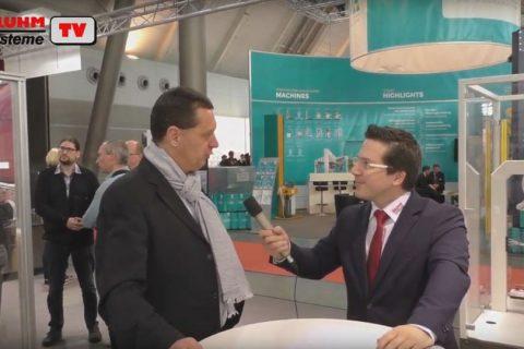Peter Altes von AIM Deutschland im BluhmTV Interview auf der LogiMAT