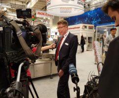 Bluhm Vertriebsdirektor Andreas Koch im Interview auf der Hannover Messe