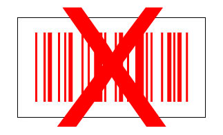 barcode rood wit