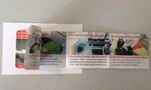 Booklet Etiketten Bluhm Systeme