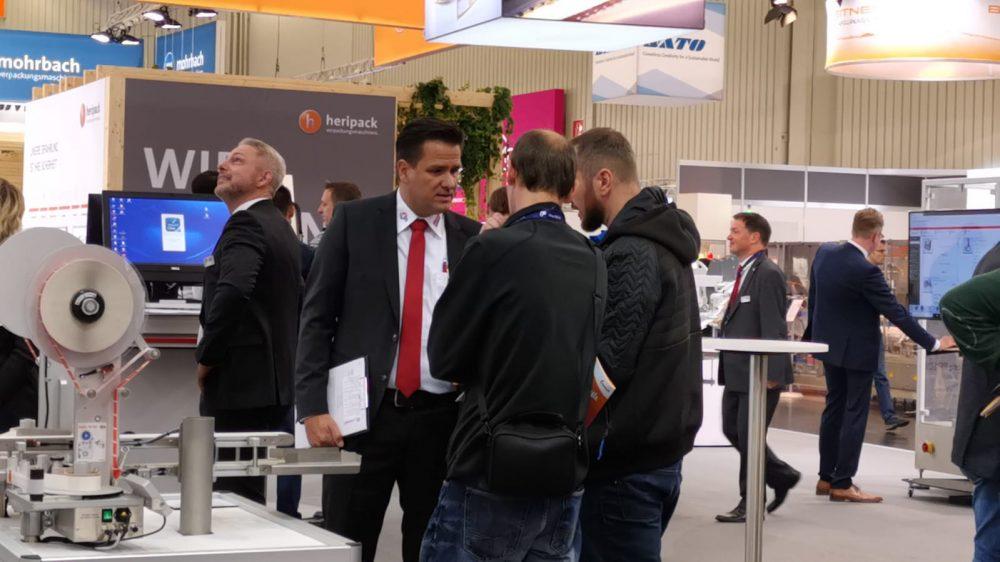 Bluhm Systeme auf der FachPack 2019 Beratung