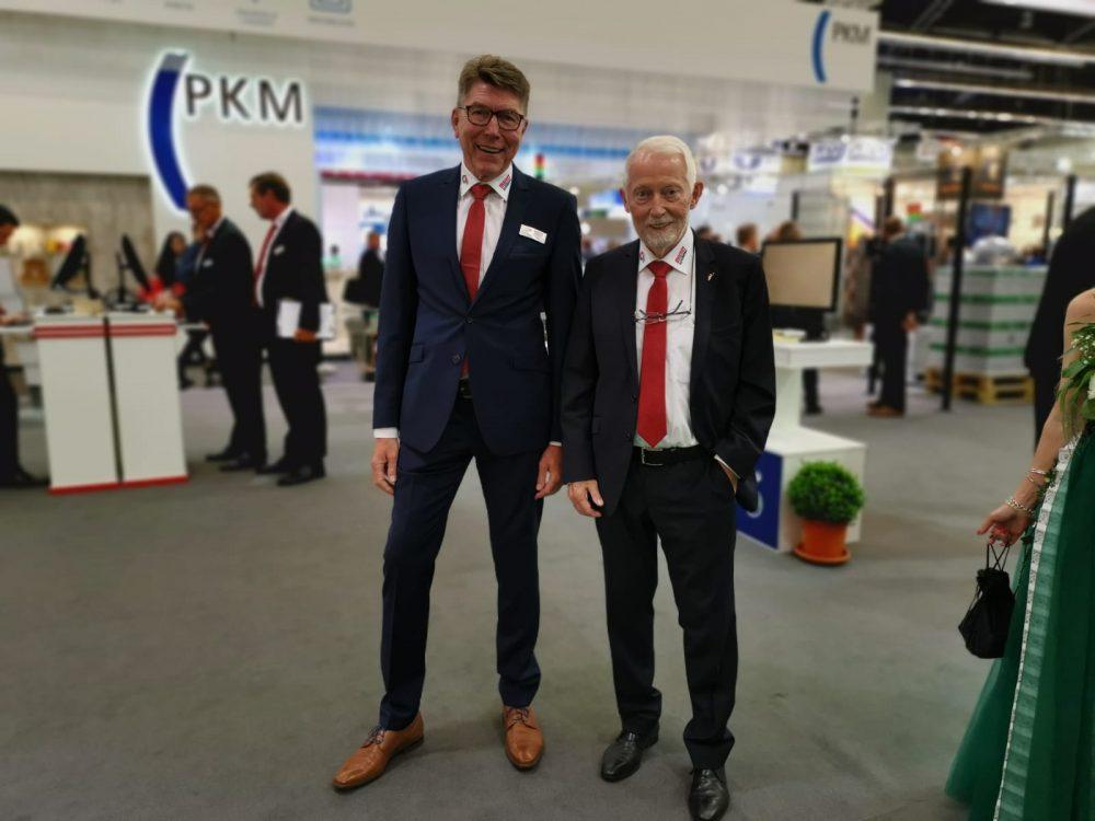 Bluhm Systeme auf der FachPack 2019 Eckhard Bluhm und Andreas Koch