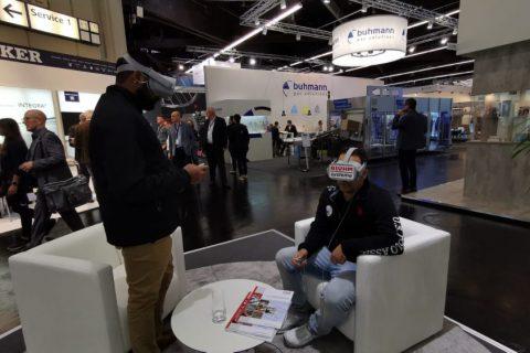 Bluhm Systeme auf der FachPack 2019 VR Brillen