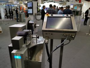 Bluhm Laserfolienmarkierer LFM100 auf der FachPack