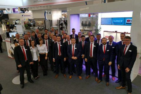 Bluhm Systeme Team auf der FachPack 2019