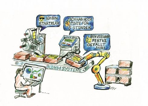 Prozessautomation in Industrie 4.0 als Comic
