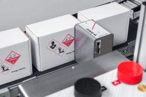 kartonkennzeichnung, tintenstrahldruck