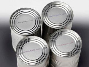 Mit Indikator-Tinte kennzeichnen: Hier eine thermochrome Tintem, die bei Hitze die Farbe wechselt.