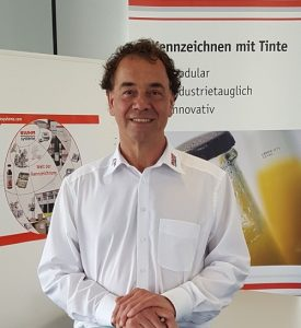 Jürgen Kaiser, Produktmanager Codierung, Bluhm Systeme GmbH